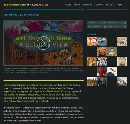 Art Through Time screenshot